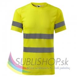 Tričko HV Protect L reflexná žltá