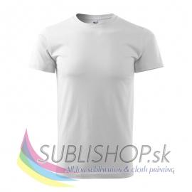 Pánske tričko Basic-biele XS
