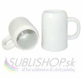 Pivný pohár biely 0,5l