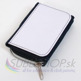 Džínsová peňaženka na sublimáciu 12 x 9 cm