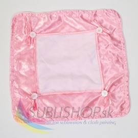 Návliečka farebná 40x40 cm Ružová