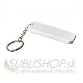 Plastová kľúčenka 48x68 mm