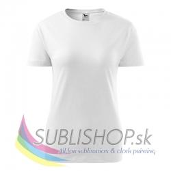 Dámske tričko Basic-biele XS