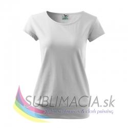 Dámske tričko City-biele S