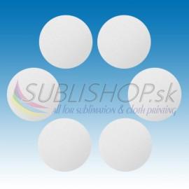 Krúžok z hliníkového plechu 0,5 mm O 50 mm biely