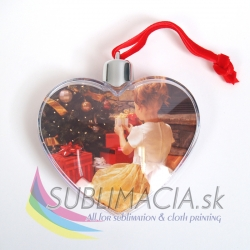 Vianočné srdce na stromček