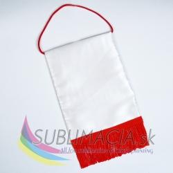 Vlajka červená 15x20cm