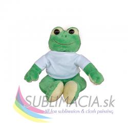Plyšová hračka žaba 20 cm s tričkom