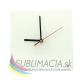 Glass Clock Ø 20 cm