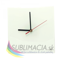 Glass Clock Ø 20 cm
