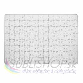 Puzzle A4/120 dielov, povrch tkanina