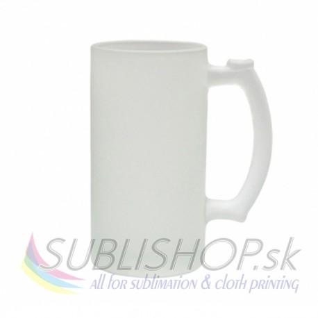 Sklenený pivný pohár (matný)