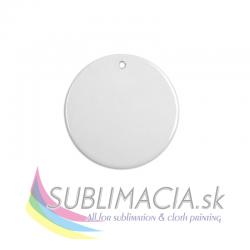 Keramická ozdoba - kruh Ø7cm