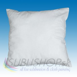 Pillow without pillowcover 40x40cm