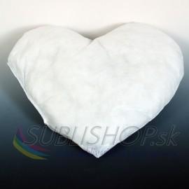 Vankúš Srdce 40x35 cm výplň