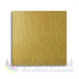 Sublimation Aluminium sheets SA100(brushed gold)