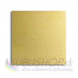 Sublimation Aluminium sheets SA101L(satin light gold)