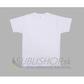T-shirt for sublimation with cotton inside