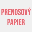 Prenosový papier